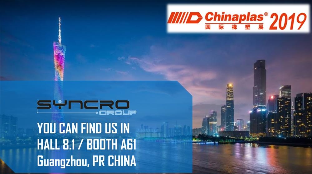 CHINAPLAS 2019 Guangzhou, PR CHINA