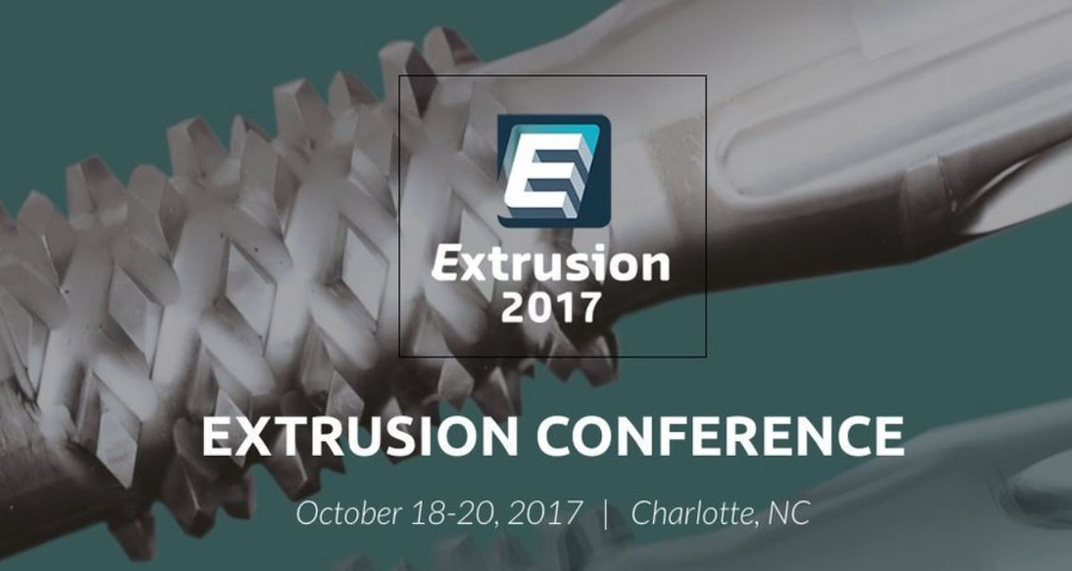EXTRUSION 2017, 18-20 OCTOBER, CHARLOTTE USA